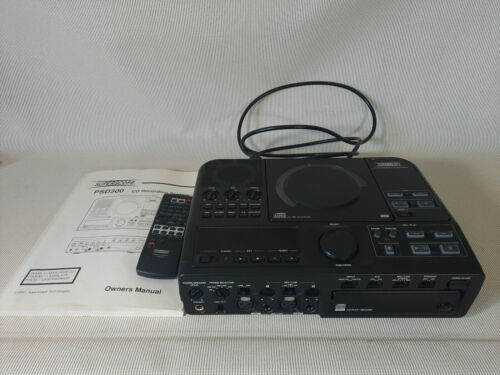 Superscope PSD300/U1B CD Player / Recorder System/Remote TESTED & WORKING