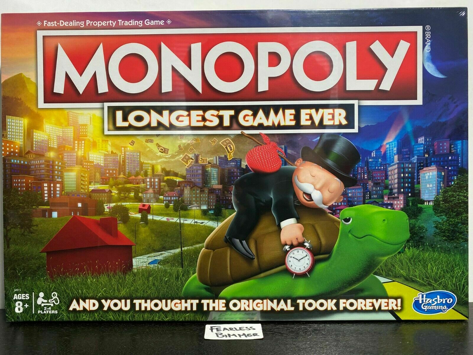 Hasbro Monopoly Longest Game Ever Amazon Exclusive Board Game New Sealed