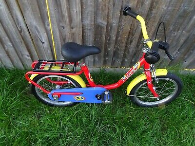 PUKY Z8 16' Kids/Children Red/Yellow Bike Age 5+ In Good Condition