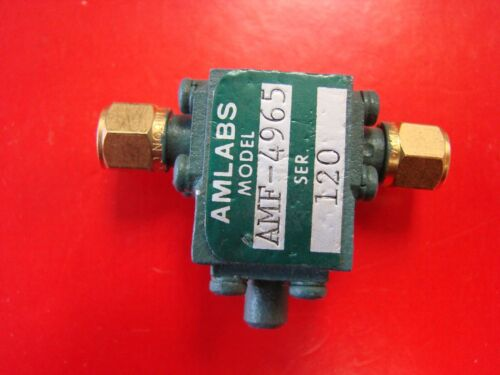 AMLABS 12-18GHz Isolator Model AMF-4965, SMA