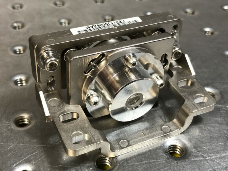 UV Objective Lens for High Power 405nm Laser w/ Removable Kinematic Mount