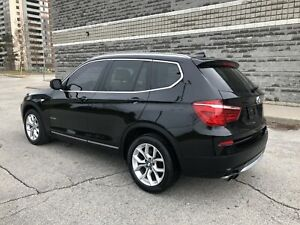 2013 BMW X3 NO ACCIDENTS!! NAV!! 360 CAM!! PANO ROOF!!