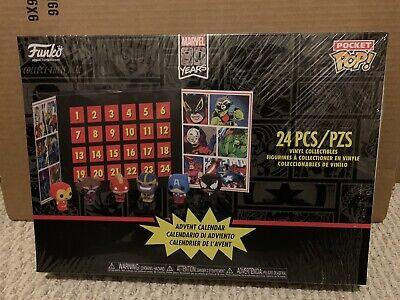 Funko Advent Calendar Marvel 80th Anniversary Pocket Pop, 24Pc Brand new, Sealed