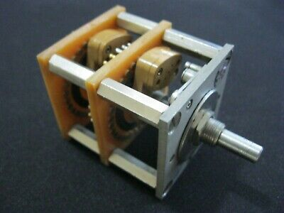 Daven 2 Pole Stereo 32 Position Rotary Switch 212 Cm-32a