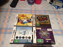 Brand new in plastic never opened Nintendo DS games Bedford Bayswater Area Preview