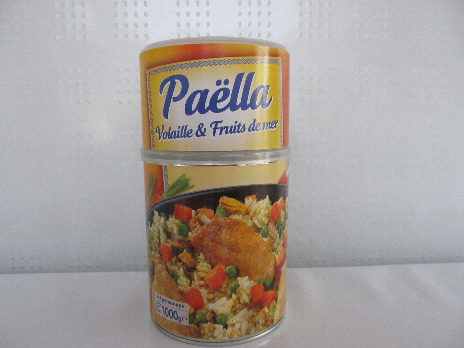 Paella Geflügel und Meeresfrüchte 1kg