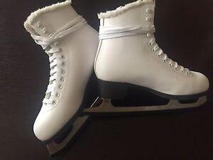 Women's White Ice Skates