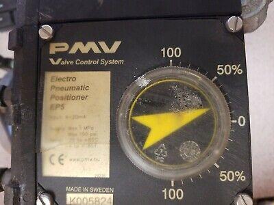 Pmv Electro Pneumatic Valve Positioner W Jamesbury St50e Actuator. 712