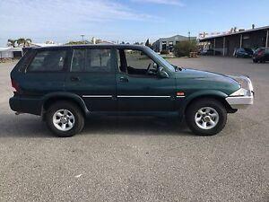 1998 Ssangyong Musso 4x4 Auto Wagon Salisbury Plain Salisbury Area Preview