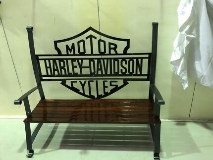 Harley Davidson seat chair art Carlisle Victoria Park Area Preview