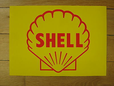 Tanksäule Tankzapfsäule Tankstelle Shell Aufkleber gaspump decal pompe essence 1