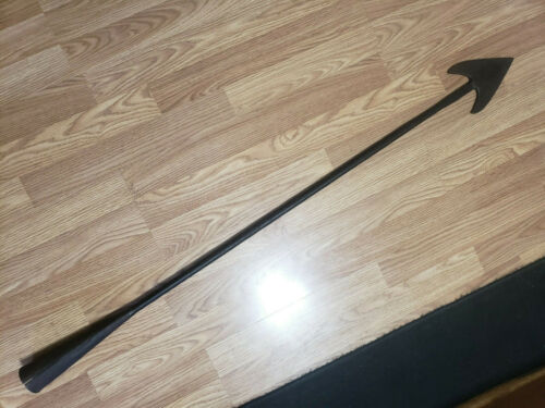 """Antique 1800 Double Flue Maine Whaling Whale Harpoon Maritime 48"""" Hand Forged"""