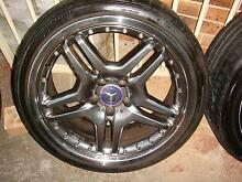 """Set Of Replica 19"""" Mercedes Rims 5 Stud x 112 Pattern ! Green Valley Liverpool Area Preview"""