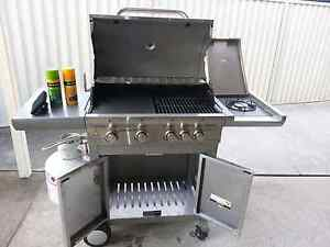 5 burner BBQ Bossley Park Fairfield Area Preview