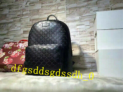 💞Authentic💞GUCCI💞Backpack💞Leather💞Black💞Bag💞