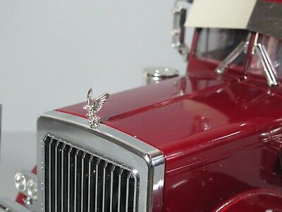 Metal Hood Eagle Grill Ornament Emblem Tamiya 1/14 King Grand Knight Hauler for sale  Shipping to India
