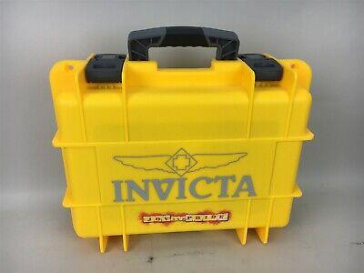 Invicta 8 Slot Dive Watch Case Box Yellow Black Joy and Pride