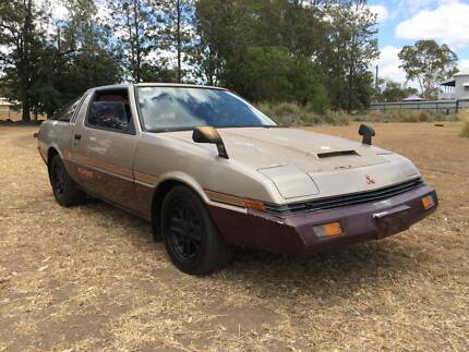 1982 Mitsubishi Starion Coupe Peak Crossing Ipswich City Preview