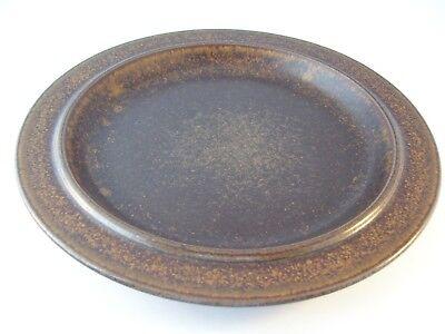 Vintage Arabia Finland Ruska Ulla Procope Pottery Dinner Plate Retired ~ F