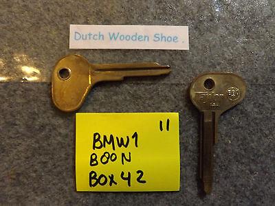 Vintage Foreign BMW Auto Key Blank TAYLOR B80NR Ilco BMW1 1970-1974