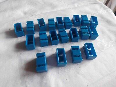 Fischertechnik 3-6, 20 Stück Stein 15/30/15 blau