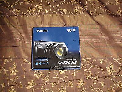 Brand New Canon - PowerShot SX720 HS 20.3-Megapixel Digital Camera - Red