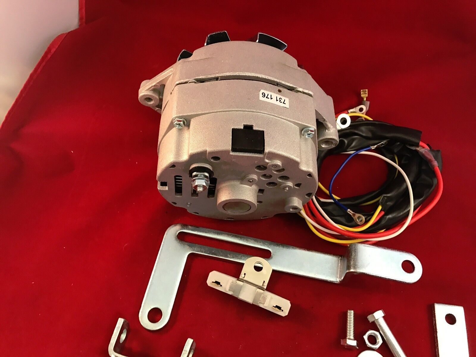 1950 1952 Ford 8n Alternator Generator Conversion Kit 6 To 12 Volt 5 Of 8 Battery