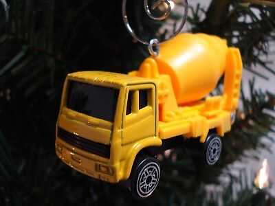 Maisto Cement Truck turned into a Custom Christmas Ornament with deluxe hanger for sale  Peoria