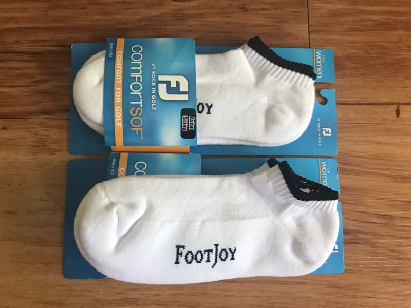 FOOTJOY Golf Socks For Women Asian Sizing - In a Set Of Two
