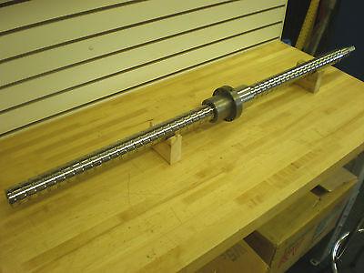 Precision Ground Ballscrew 24mm Lead Thread Dia 1.950 Newsurplus
