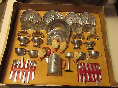 Vintage Mirro Aluminum 41 Pc Set Complete in Original Box #248 MT
