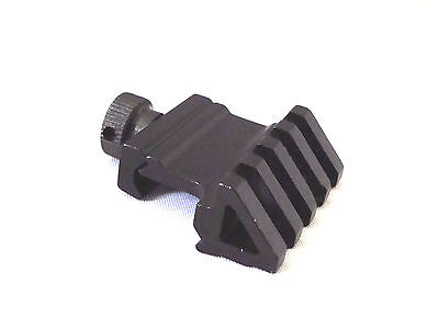 45 Degree Offset Picatinny Weaver Universal Rail Mount with Quick Release