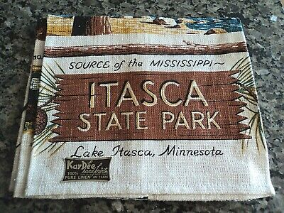 Linen Tea Towel - Itasca State Park