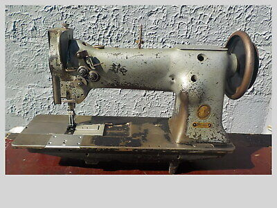 Industrial Sewing Machine Model Singer 112w139 Two Needle Walking Foot Leather