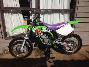 Kawasaki KX 125 1994 full reco 5hrs use VMX Seaford Frankston Area Preview