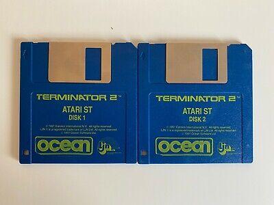 Rare Atari ST Game - Terminator 2  - 2 Disc Game Only - VGC - Free P&P