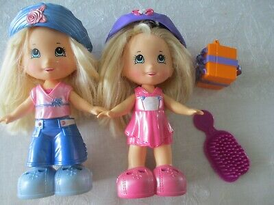 2 Fisher price snap' n style 7 inch dolls plus accessories