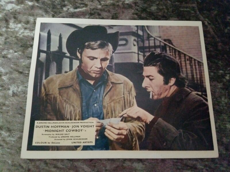 Midnight Cowboy lobby cards - Dustin Hoffman, Jon Voight