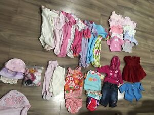 Box of girls clothes 3-6 months