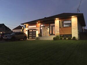 Magnifique bungalow à Ste-Sophie négociable