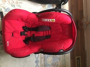 Maxi-Cosa Mico Infant Car Sear in Limited Edition Red