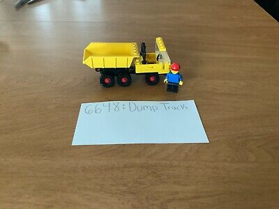 LEGO Classic Town Construction set 6648-2 Dump Truck - Complete