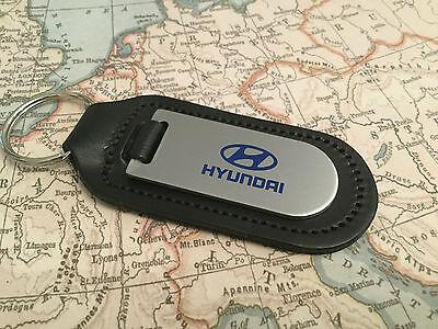Original Hyundai Llavero Cuero para Mando Llaves