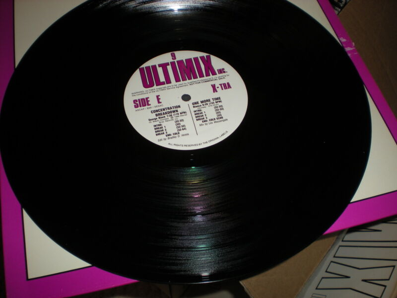 Ultimix 9 VINYL Side E & F ONLY George Black Bianca Loleatta Holloway