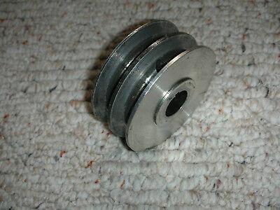 Atlas Craftsman Lathe 560-051 Dual Vee Pulley 34 Bore Ketset Screw Excellent