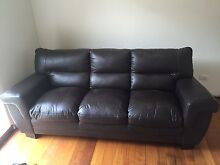 Leather couch never used!! Must go by 8th May Beaumaris Bayside Area Preview