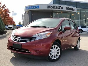2016 Nissan Versa Note 1.6 SV, LOW KMS, CVT, 1.6L, NEW ARRIVAL!