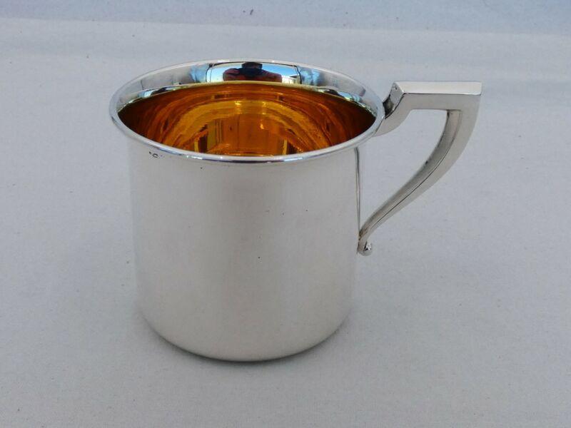 Vintage Saart Sterling Silver Baby Cup XL-18