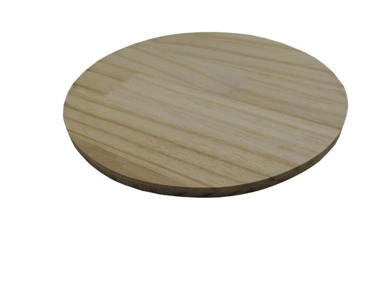 "10"" Wood Disc Round Logo Plaque Pine Circle Board Art Craft Name Street Number"
