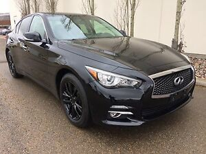 2014 Infinti Q50, sedan, AWD, back up cam!